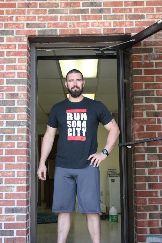 Josh Lehew, owner of CrossFit Soda City